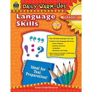 Daily Warm-Ups - Language Skills: Grade 3-0