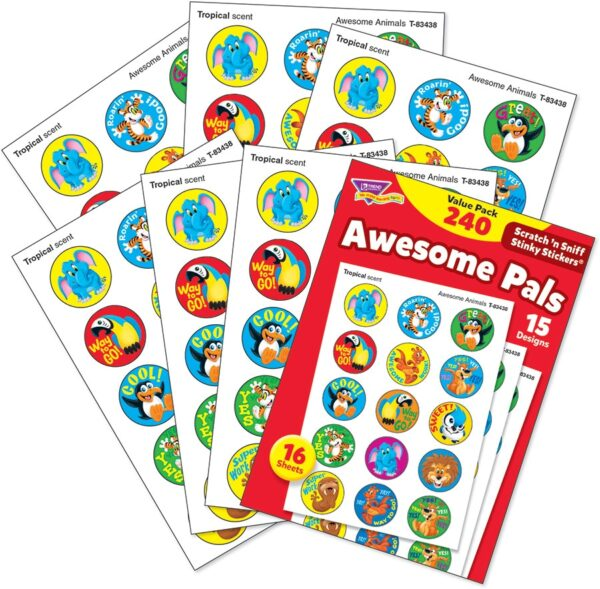 Awesome Pals (240 stickers)-4664
