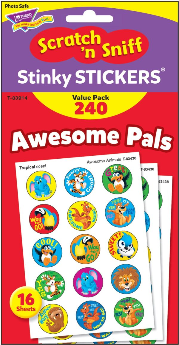 Awesome Pals (240 stickers)-4667