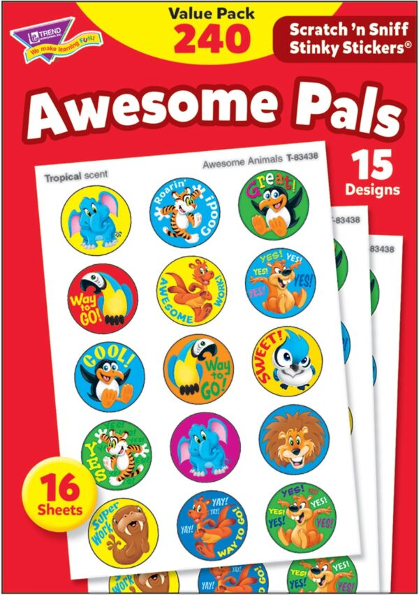 Awesome Pals (240 stickers)-4665