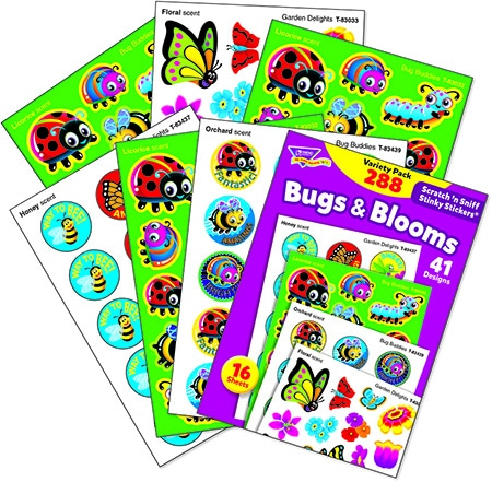 Bugs & Blooms (288 stickers)-4653