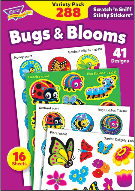 Bugs & Blooms (288 stickers)-4654