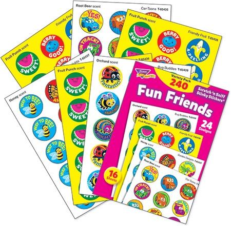 Fun Friends (240 stickers)-4659