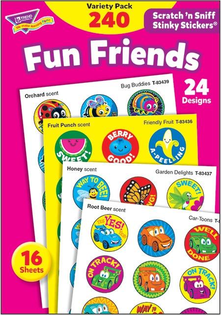 Fun Friends (240 stickers)-4660