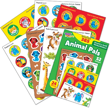 Animal Pals (385 stickers)-4646
