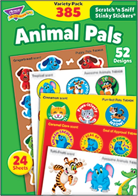 Animal Pals (385 stickers)-4645