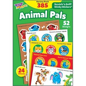 Animal Pals (385 stickers)-0