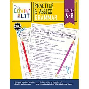 Practice and Assess: Grammar, Grades 6-8-5220