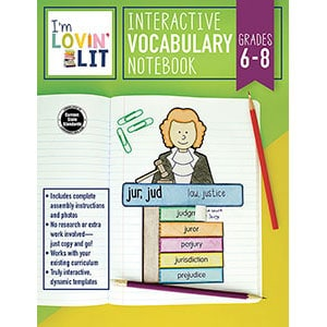 Interactive Vocabulary, Grades 6-8-5110