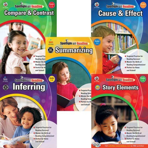 Spotlight on Reading Series, Grades 1-2-0