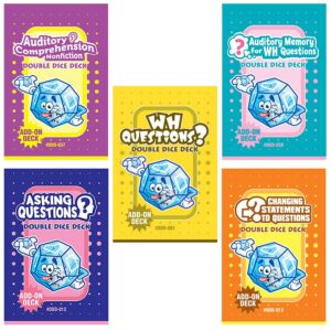 Double Dice Deck Bundle: Questions (DDD-001, 012, 013, 037, 038)-0