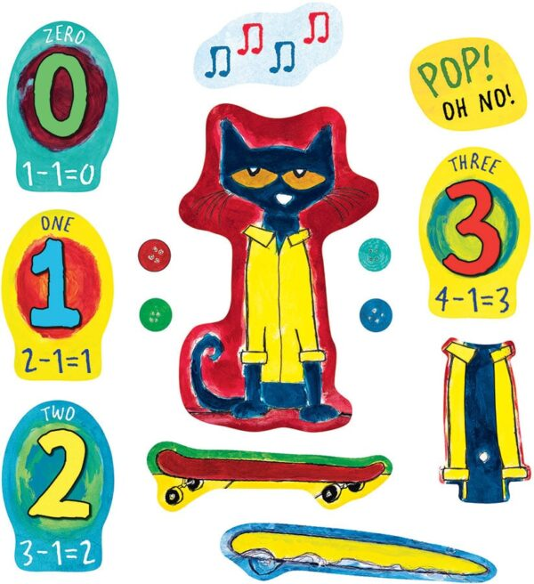 Pete the Cat and His Four Groovy Buttons - Flannel Board Stories-0