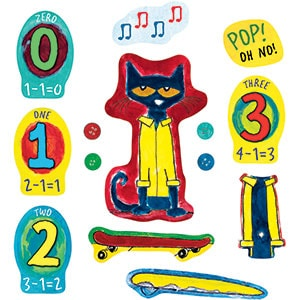 Pete the Cat and His Four Groovy Buttons - Flannel Board Stories-5274