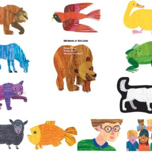 Brown Bear, Brown Bear, What Do You See? - Flannel Board Stories-0