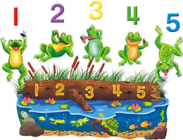 Five Speckled Frogs - Flannel Board Stories-0