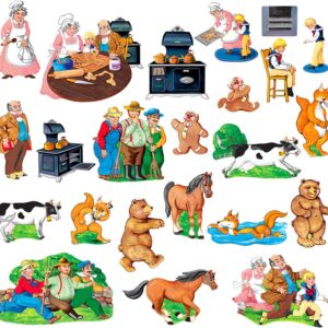 Gingerbread Boy - Flannel Board Stories-0