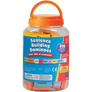 Sentence Building Dominoes-5211