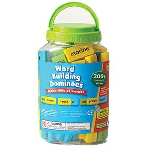 Word Building Dominoes-5116