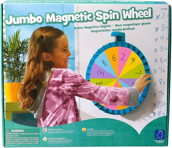 Jumbo Magnetic Spin Wheel-0
