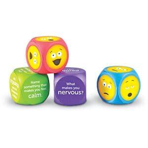 Soft Foam Emoji Cubes-5422
