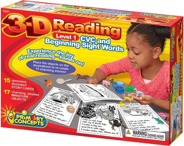 3-D Reading-0
