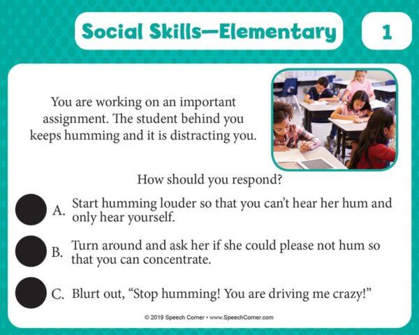 Spot On! Social Skills Elementary-5368