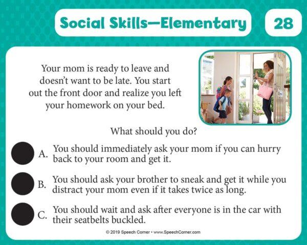 Spot On! Social Skills Elementary-5370