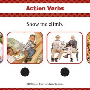Spot On! Action Verbs-5081