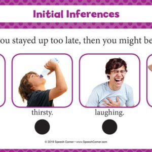 Spot On! Initial Inferences-5049