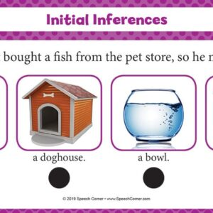 Spot On! Initial Inferences-5048