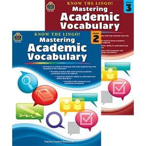 Konw the Lingo! Mastering Academic Vocabulary, Grades 2-3-5118