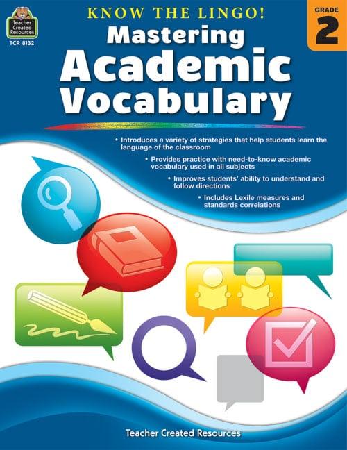 Konw the Lingo! Mastering Academic Vocabulary, Grades 2-3-0