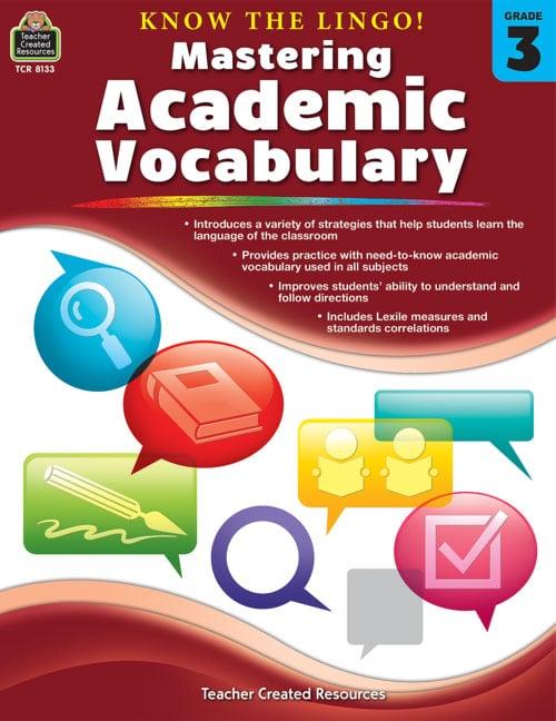 Konw the Lingo! Mastering Academic Vocabulary, Grades 2-3-5120