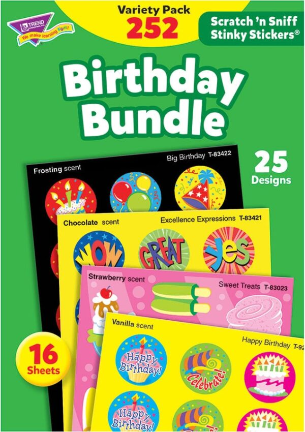 Birthday Bundle - Scratch 'n Sniff Stinky Stickers-0