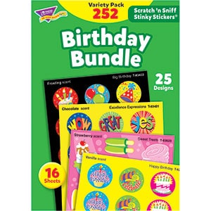 Birthday Bundle - Scratch 'n Sniff Stinky Stickers-5636