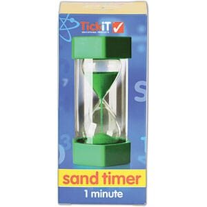 Large Sand Timer: 1 Minute-5621