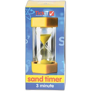 Large Sand Timer: 3 Minute-5629
