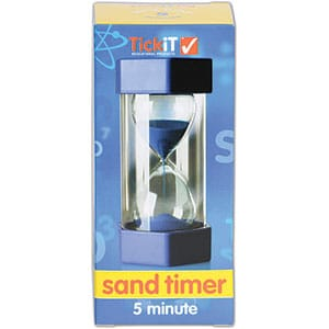 Large Sand Timer: 5 Minute-5633