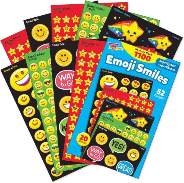 Emoji Smiles - Mini Stickers-0