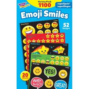 Emoji Smiles - Mini Stickers-5640