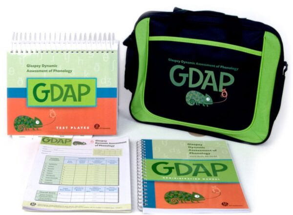 GDAP Glaspey Dynamic Assessment of Phonology- 25 Forms-6209