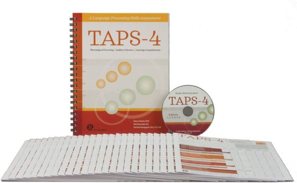 TAPS-4 A Language Processing Skills Assessment-Complete Kit-6240