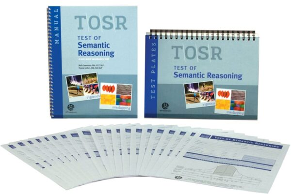 Test of Semantic Reasoning (TOSR)- 25 Forms-6234