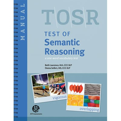 Test of Semantic Reasoning (TOSR)- 25 Forms-0