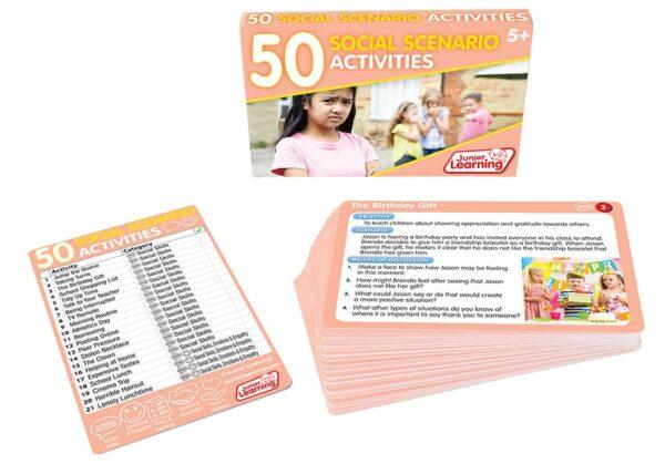 50 Social Scenario Activities-6323