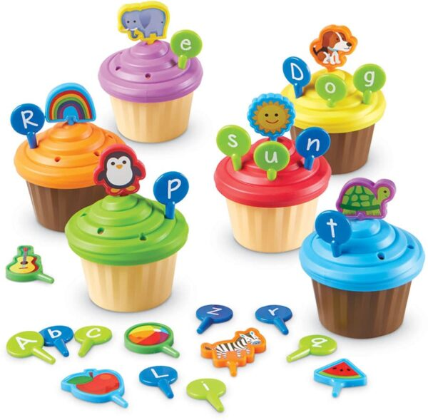 ABC Party Cupcake Toppers-6052
