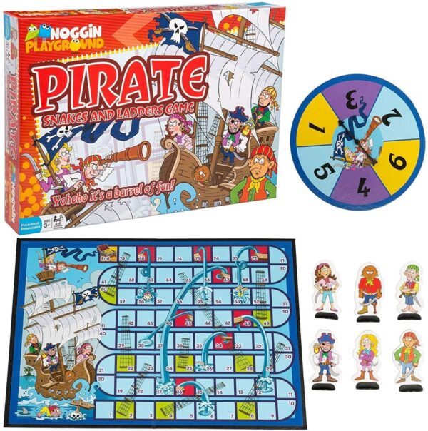 Pirate Snakes and Ladders-6098