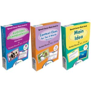 Speech Corner Photo Cards Bundle for Language Comprehension (SC-200, 245, 275)-0