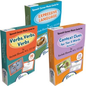 Speech Corner Photo Cards Bundle-Vocabulary (SC-210, 245, 255)-0
