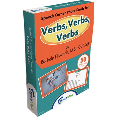 Speech Corner Photo Cards for Verbs, Verbs, Verbs-0